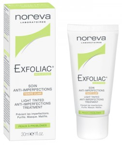 EXFOLIAC Light Tinted Anti-perfections treatment cream