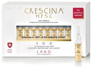 CRESCINA ΑΝΑΠΤΥΞΗ HFSC 100% κατά της αραίωσης των μαλλιών