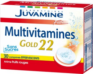 JUVAMINE Fizz Multivitamin Gold 22
